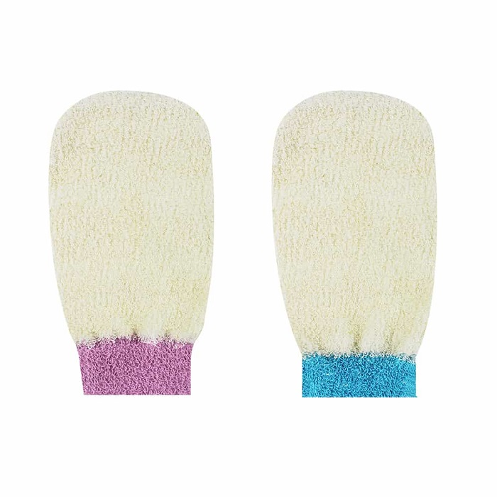 22715 ECT CLEANSING MITT COLOR ASSORTMENT-S