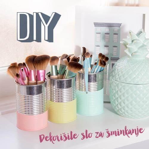 Reciklirajte Do Savršenog Stola Za šminkanje!