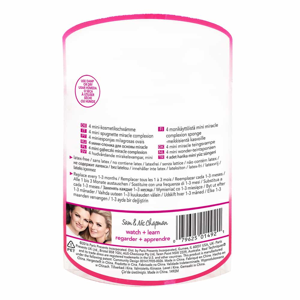 1492M RT 4 MINI MIRACLE COMPLEXION SPONGE IN BACK S