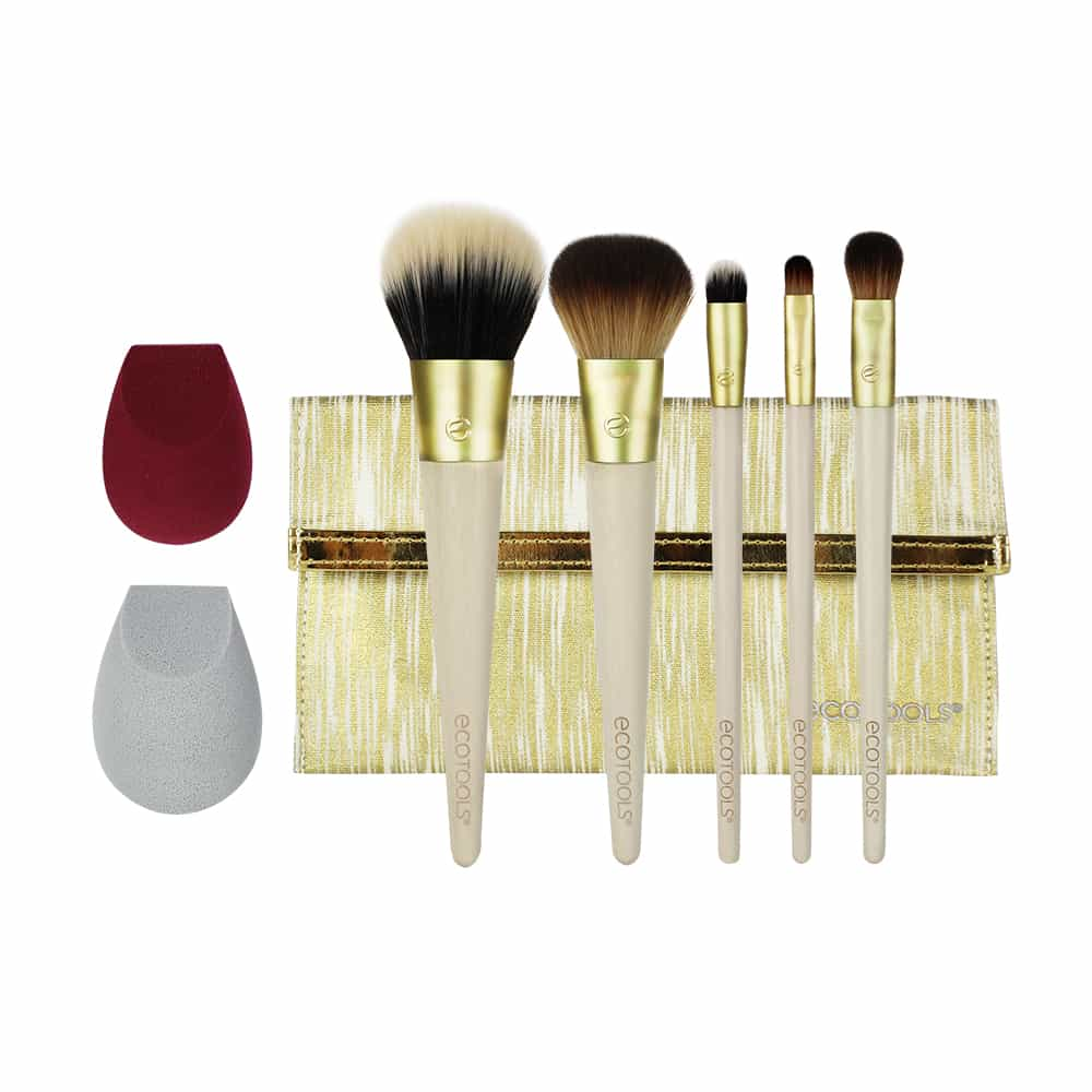 Beautifully Bronzed Brush Set